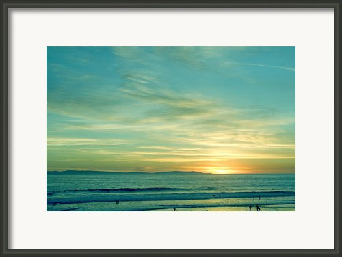 Huntington Beach Framed Print By Viktor Savchenko