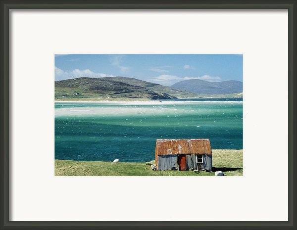 Hut On West Coast Of Isle Framed Print By Rob Penn
