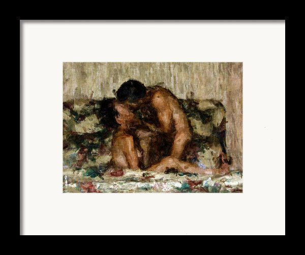 I Adore You Framed Print By Kurt Van Wagner