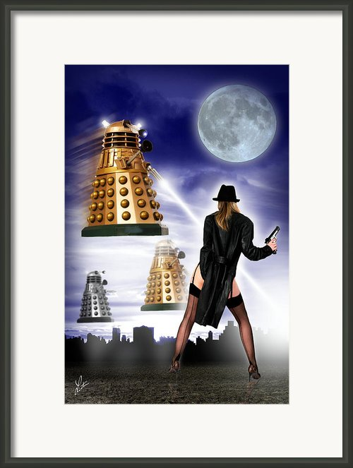 I Am The Doctor Framed Print By Linton Hart