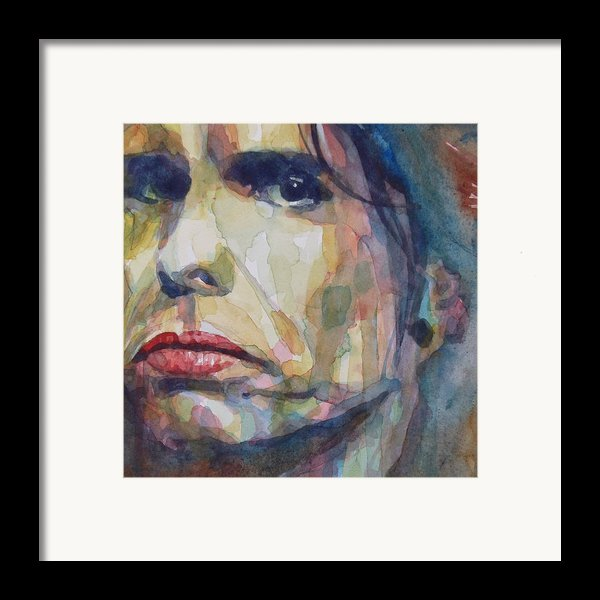 I Could Spend My Life In This Sweet Surrender Framed Print By Paul Lovering