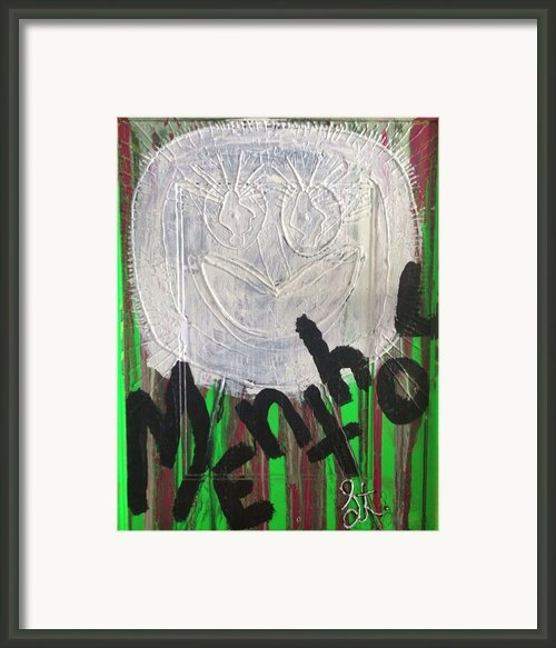 I Love Menthol Smokes Framed Print By Lisa Piper Stegeman