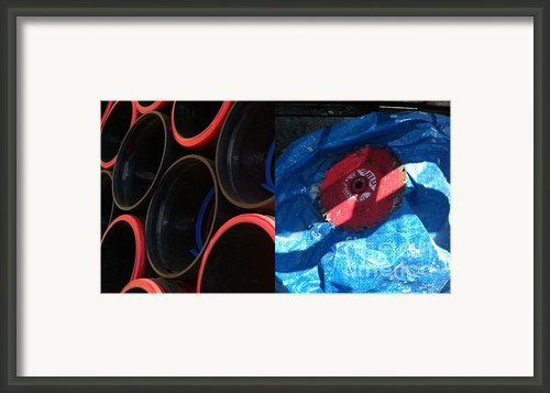I Saw A Circular Saw Framed Print By Marlene Burns