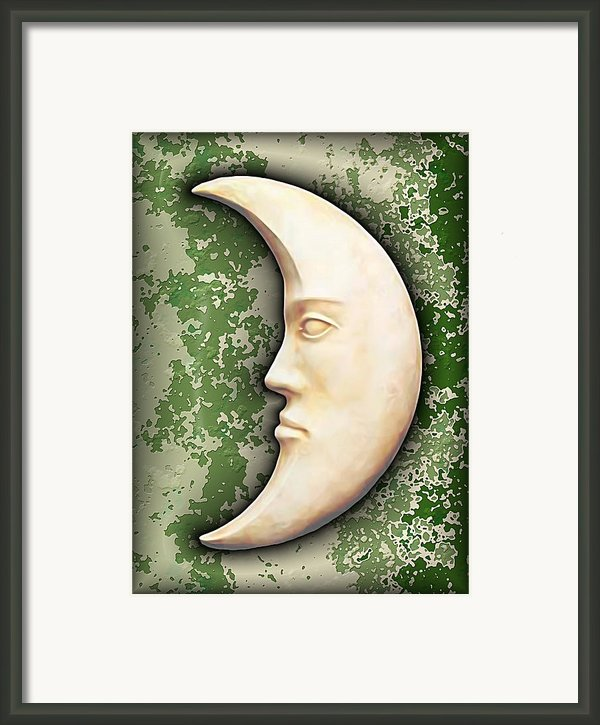 I See The Moon 3 Framed Print By Wendy J St Christopher