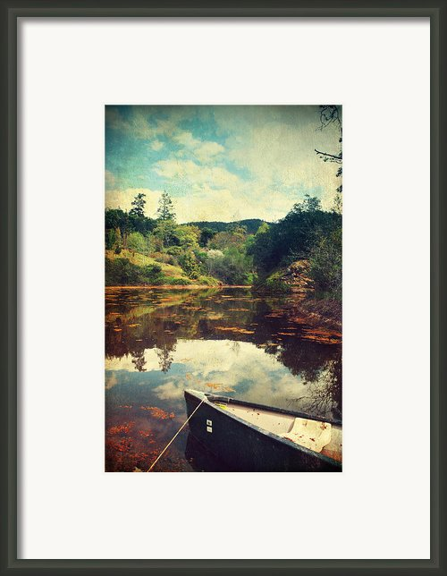 I Tried To Get To You Framed Print By Laurie Search