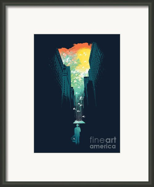 I Want My Blue Sky Framed Print By Budi Satria Kwan