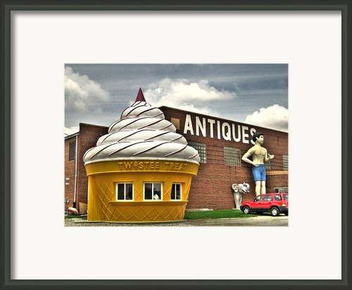 Ice Cream Framed Print By Jane Linders