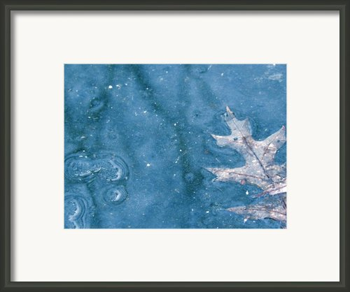 Ice Reflections 2 Framed Print By Laura Yamada