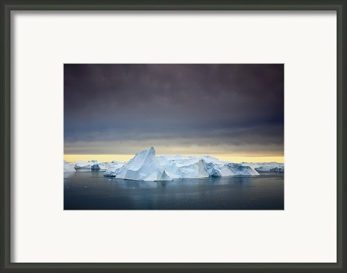 Icebergsarctic, Canada Framed Print By Artzooks