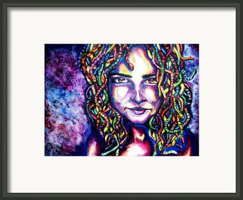 If Looks Could Kill Framed Print By Shana Rowe