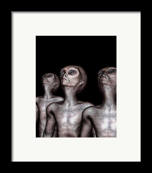 If One Was Three Framed Print By Bob Orsillo