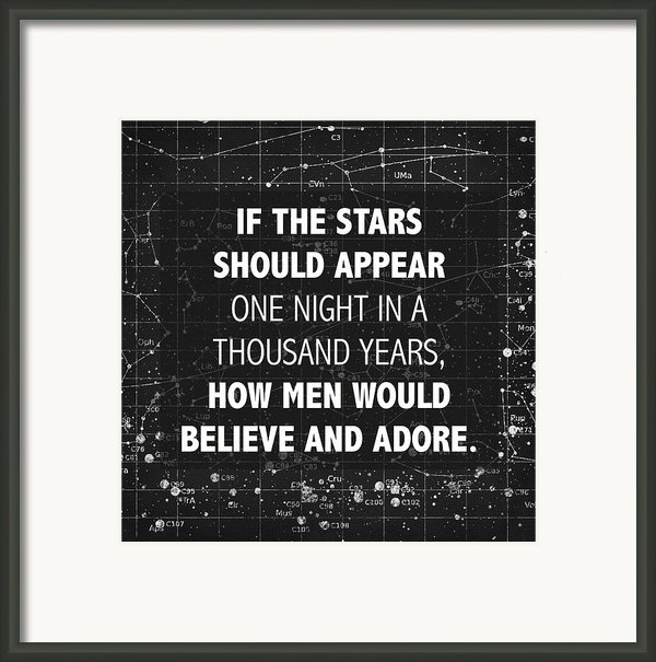 If The Stars Framed Print By Marianne Beukema