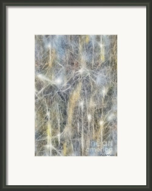 Ignis Fatuus Framed Print By Rc Dewinter