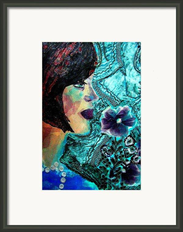 Ilana Framed Print By Diane Fine