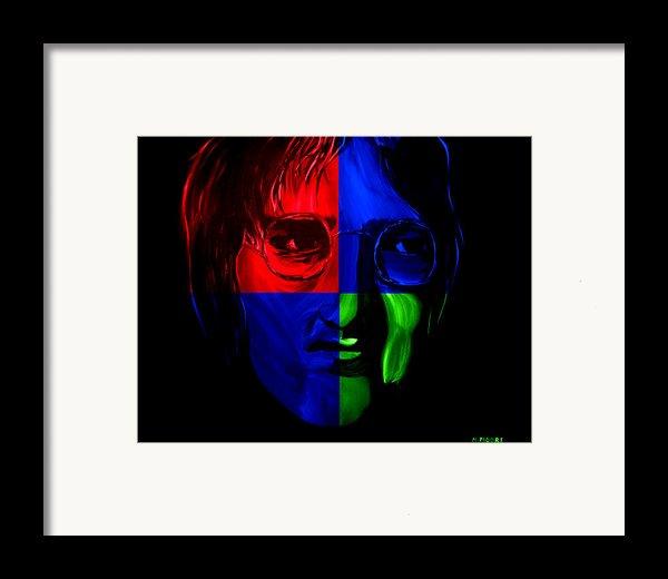 Imagine Framed Print By Mark Moore