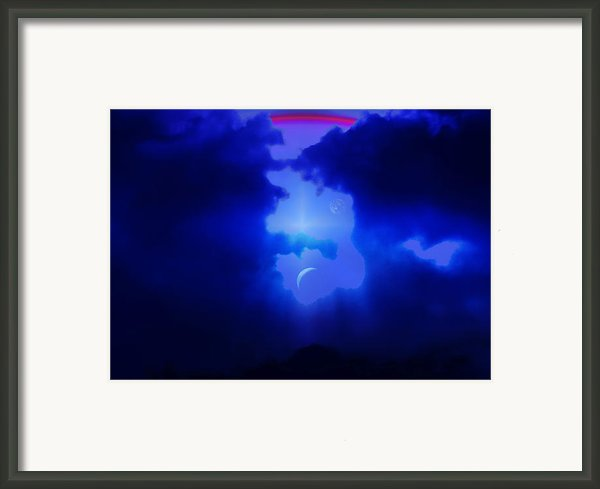 Imagine Somewhere Higher Framed Print By Kellice Swaggerty
