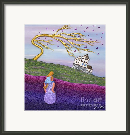 Immersed Framed Print By Anne Klar