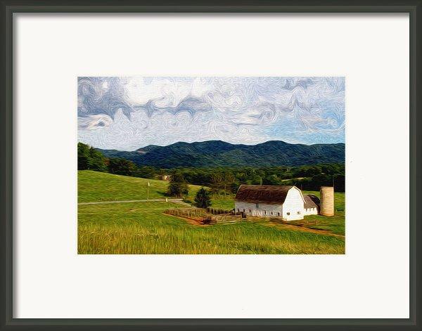 Impressionist Farming Framed Print By John Haldane