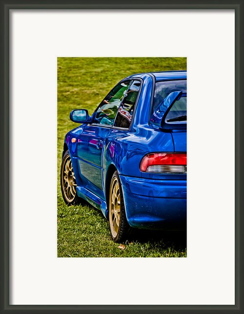 Impreza 22b Framed Print By Phil
