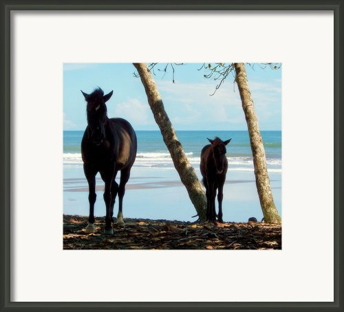 In Her Image Framed Print By Karen Wiles
