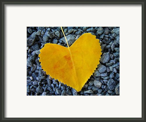 In Love ... Framed Print By Juergen Weiss
