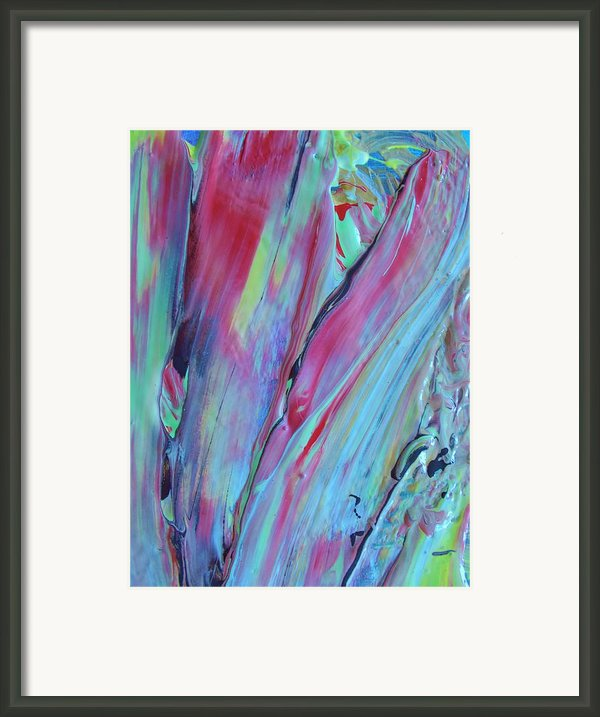 In No Sense Framed Print By Artist Ai
