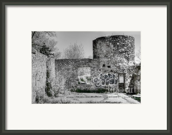 In Side The Boathouse Framed Print By Kathleen Struckle