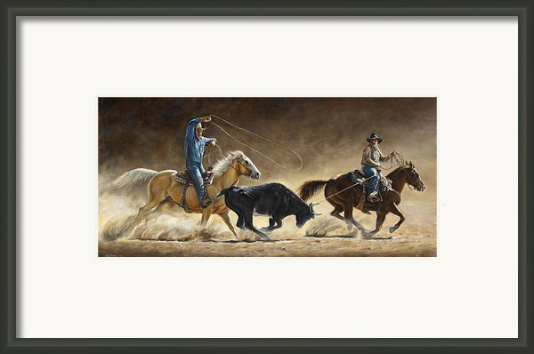 In The Money Framed Print By Kim Lockman