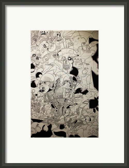 Inaccessible Mental Processes Framed Print By Michael Kulick