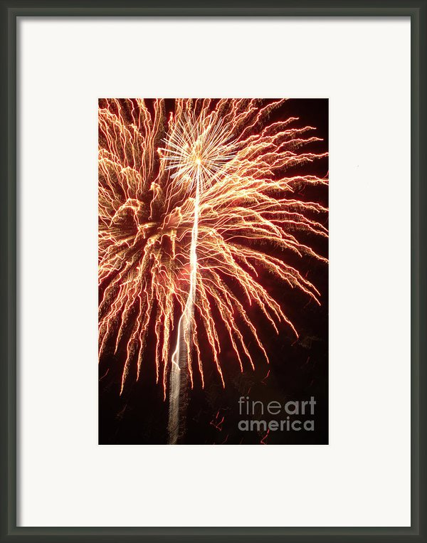 Independence Day Sparklers 2 Framed Print By Deborah Smolinske