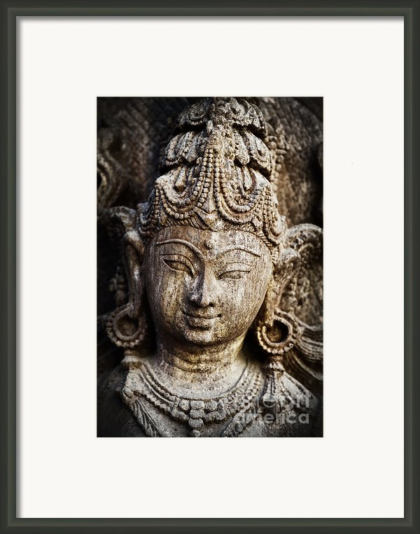 Indian Goddess Framed Print By Tim Gainey