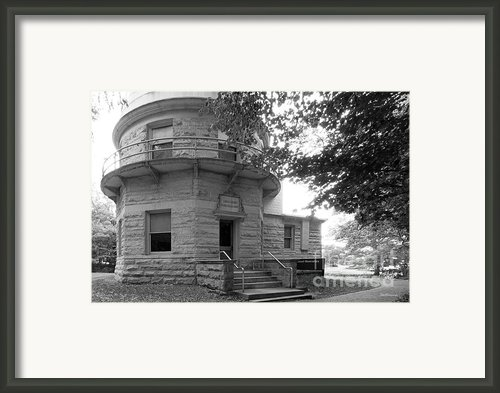 Indiana University Kirkwood Observatory Framed Print By University Icons