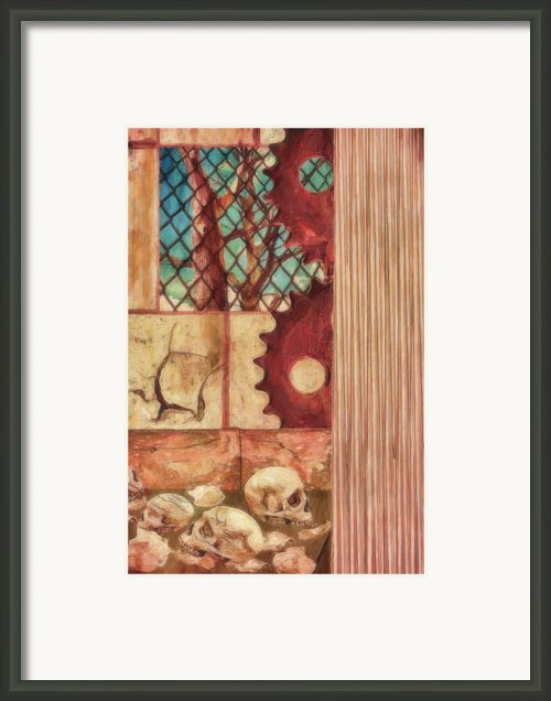Industrial Nightmare Framed Print By Jacob King