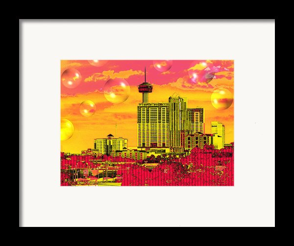 Inner City - Day Dreams Framed Print By Wendy J St Christopher