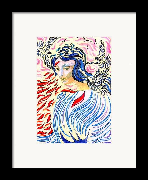 Inner Peace Framed Print By Jane Small