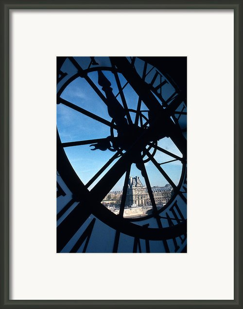 Inside The Clock Framed Print By Carl Purcell