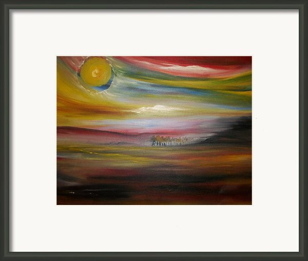 Inside The Sunset Framed Print By Jake Huenink
