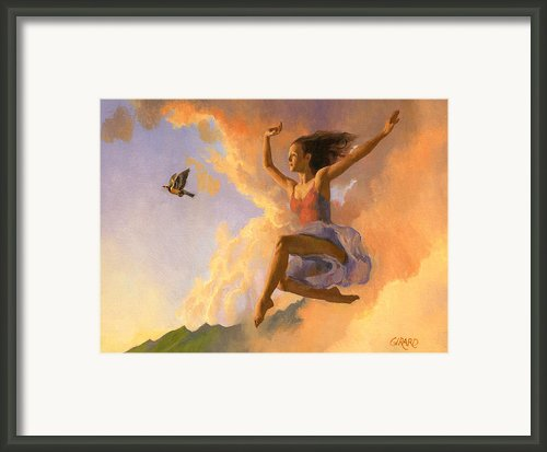 Inspiration Framed Print By Douglas Girard