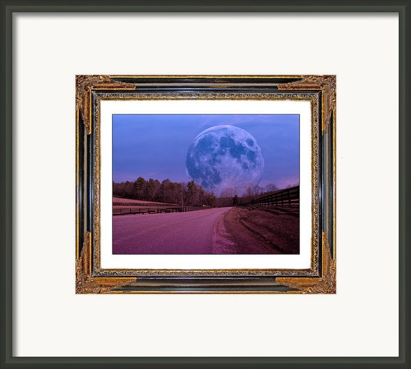 Inspiration In The Night Framed Print By Betsy A  Cutler