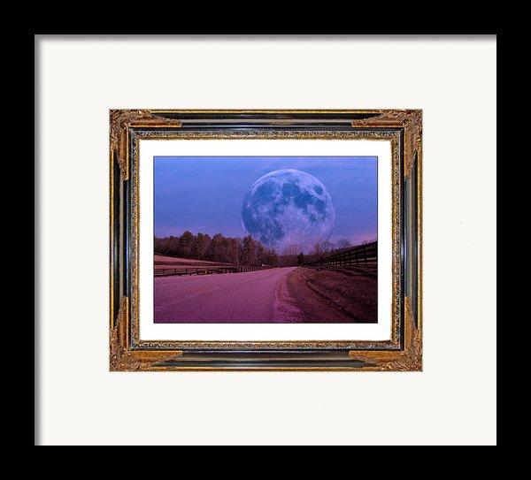 Inspiration In The Night Framed Print By Betsy C  Knapp