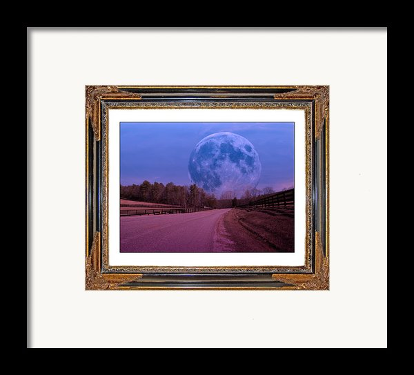 Inspiration In The Night Framed Print By Betsy C  Knapp