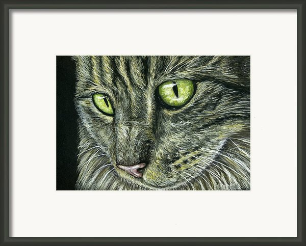 Intense Framed Print By Michelle Wrighton