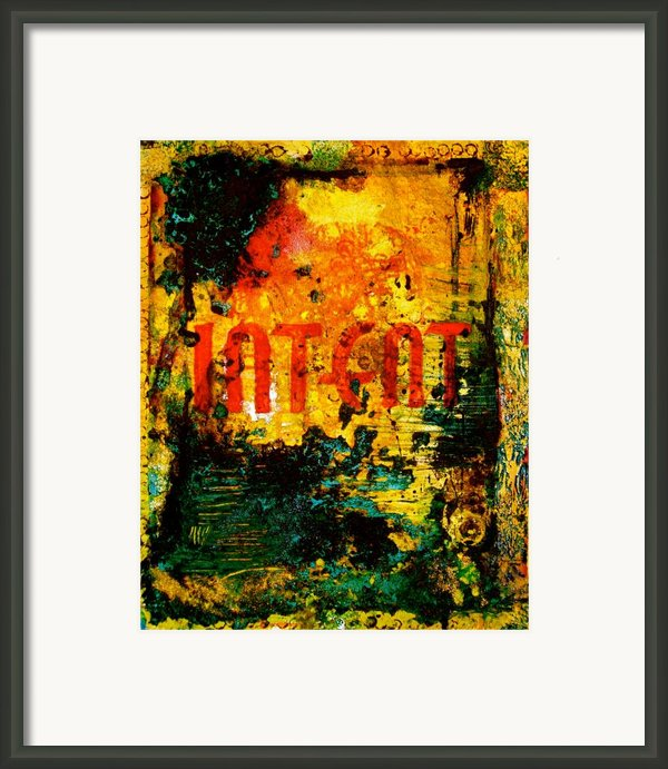 Intent Framed Print By Laura Pierre-louis