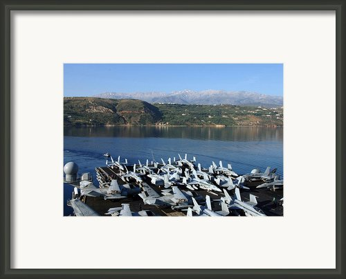 Into Port Framed Print By Mountain Dreams