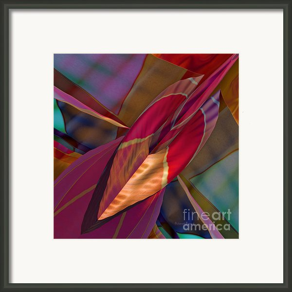 Into The Soul Framed Print By Deborah Benoit