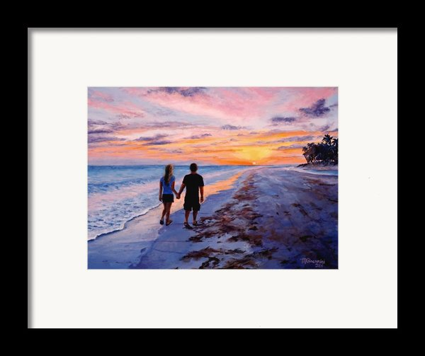 Into The Sunset Framed Print By Mary Giacomini