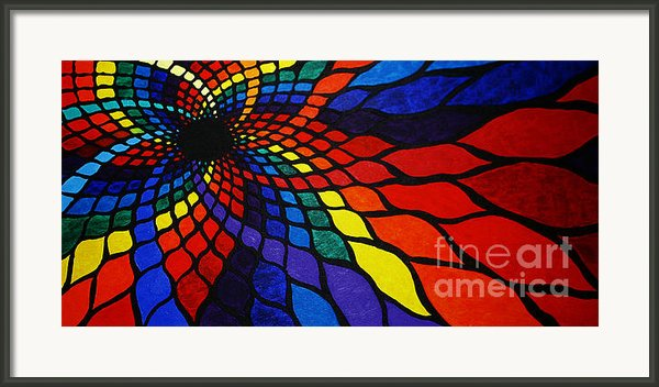 Into The Void Framed Print By Sean Ward