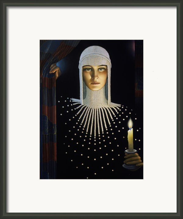 Intrique Framed Print By Jane Whiting Chrzanoska