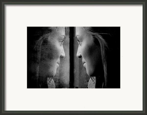 Introspection Framed Print By Lisa Knechtel