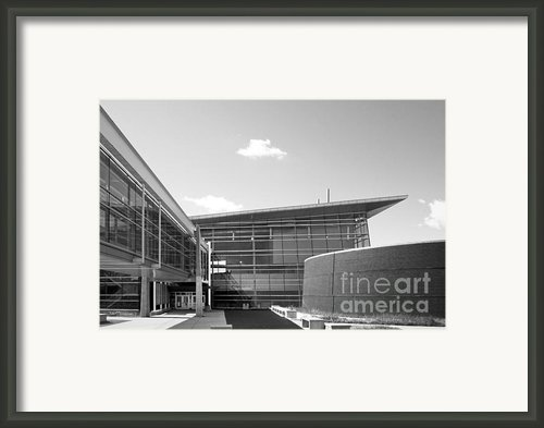 Iowa State University Howe Hall Framed Print By University Icons